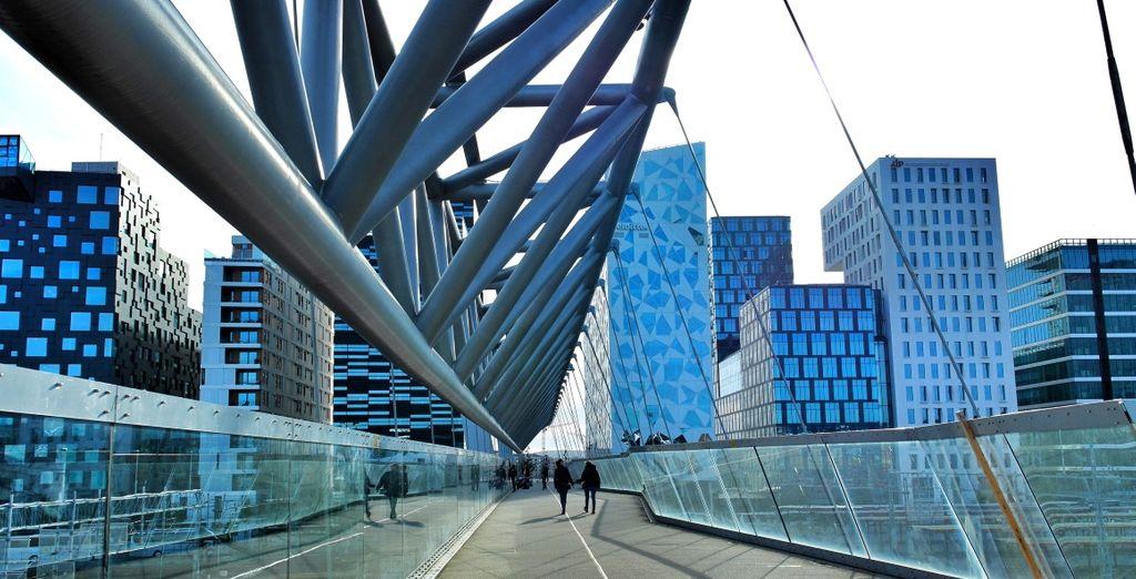 e la sua architettura ultra moderna