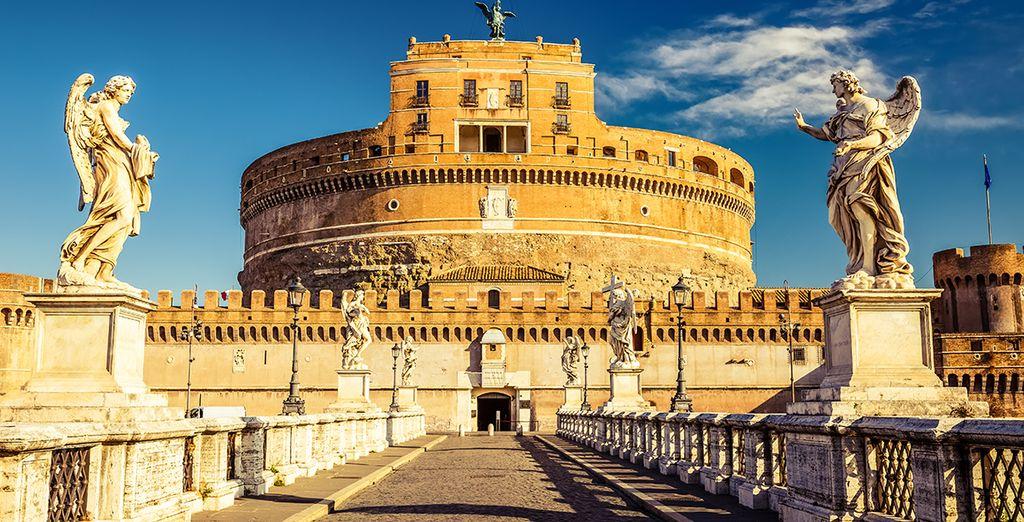 vicino a Castel Sant'Angelo