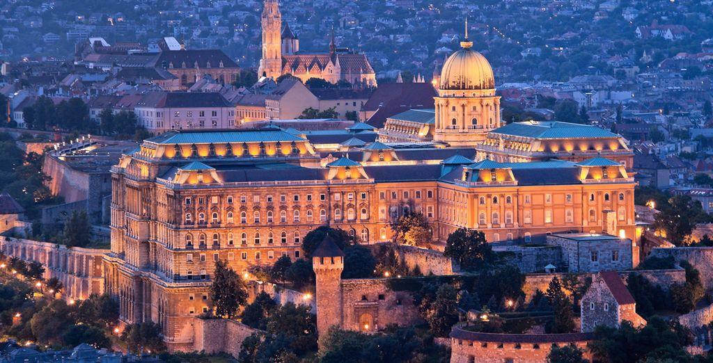 Arriverete quindi a Budapest