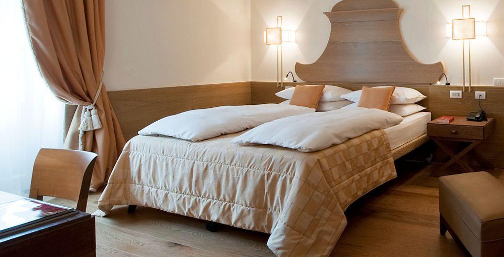 Soggiornate in una camera doppia comfort