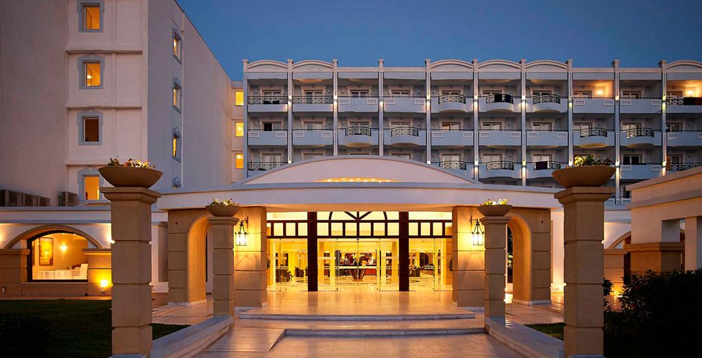 Il Mitsis Grand Hotel 5* è pronto ad accogliervi