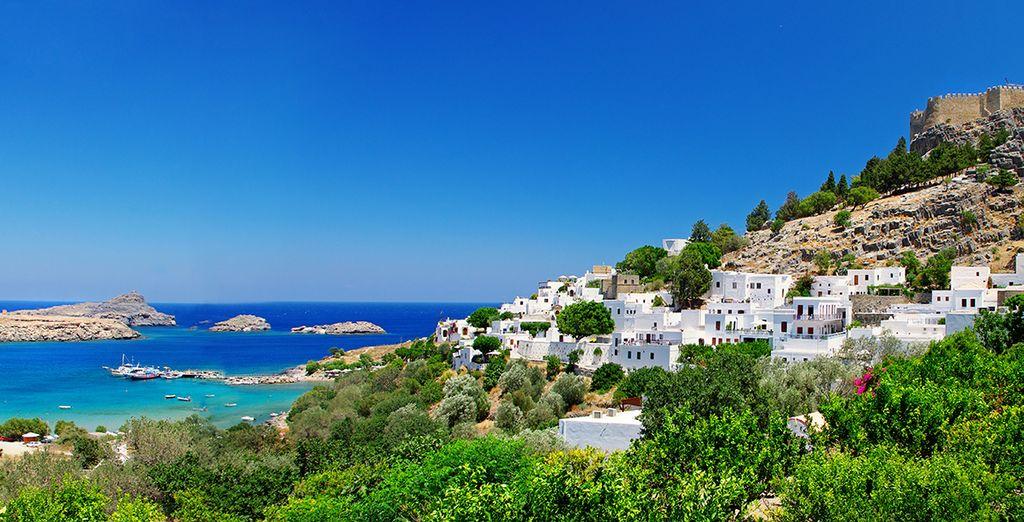 Rodi, gioiello dell'Egeo, vi farà vivere una vacanza indimenticabile!