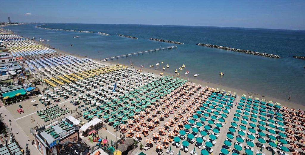 Meta famosissima e storica del turismo balneare italiano