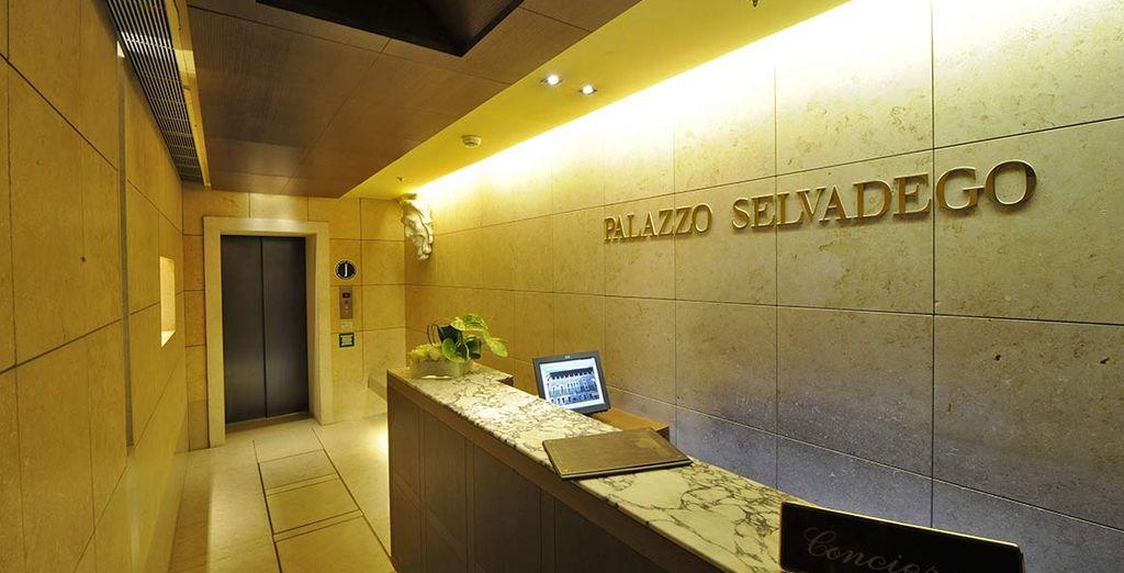 Il Palazzo Selvadego 4* vi dà il benvenuto