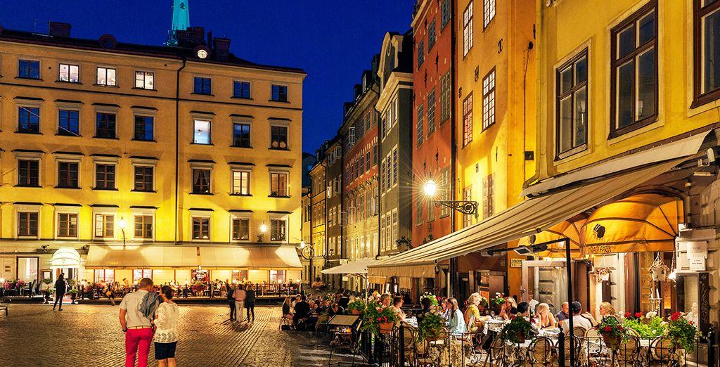 una città ideale per lunghe passeggiate