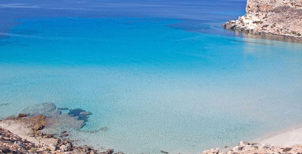 In uno degli scenari più suggestivi del Mediterraneo