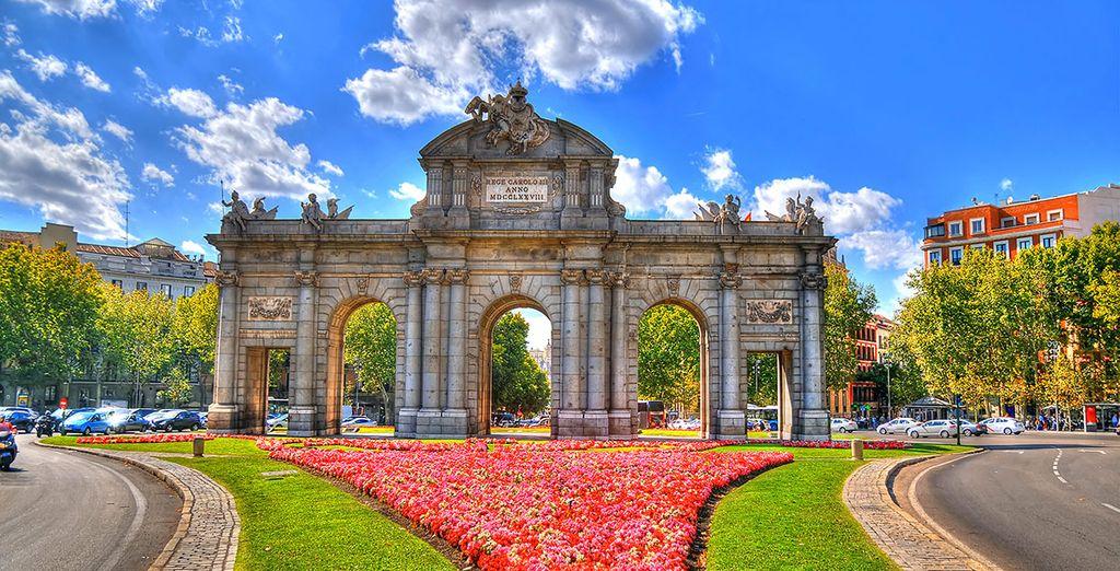 Il vostro hotel vanta una posizione privilegiata con vista sulla Puerta de Toledo