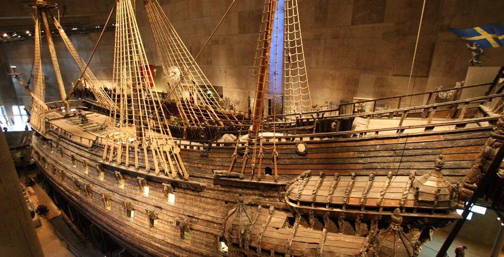 Reperti di rara bellezza come la nave Vasa