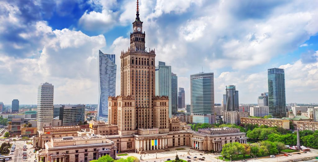 nella splendida città di Varsavia