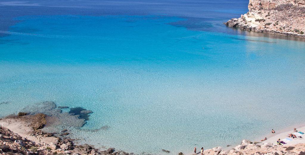 Per partire alla scoperta di un'isola splendida.