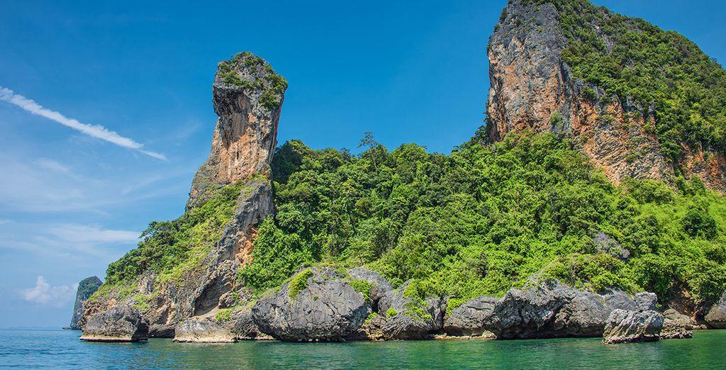 Vi sposterete poi sull'isola di Koh Klang