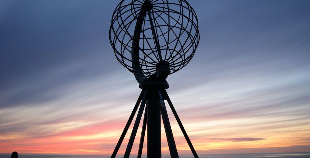 Il monumento al punto più a nord del nostro continente