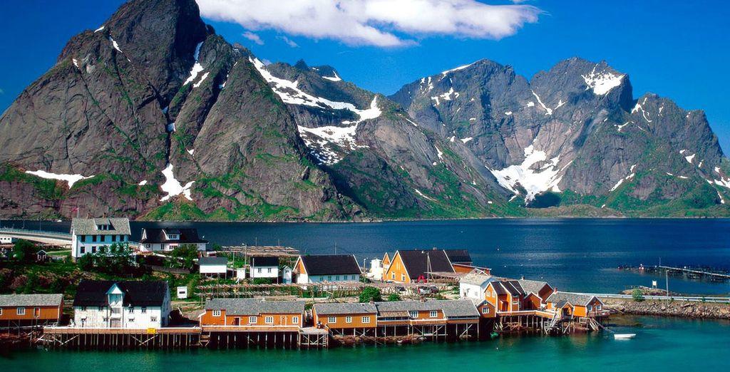 I panorami dal fascino nordico della Norvegia vi rimarranno nel cuore