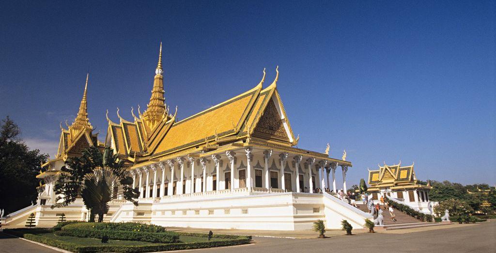 Visitate il maestoso Palazzo Reale Phnom Penh