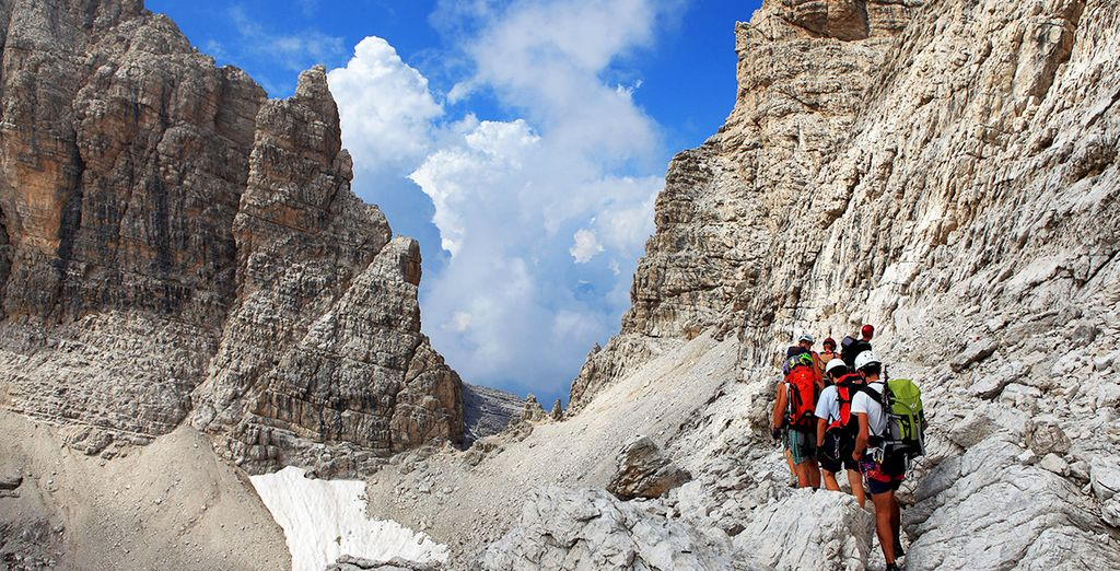 Potrete trovare percorsi di trekking per tutte le difficoltà