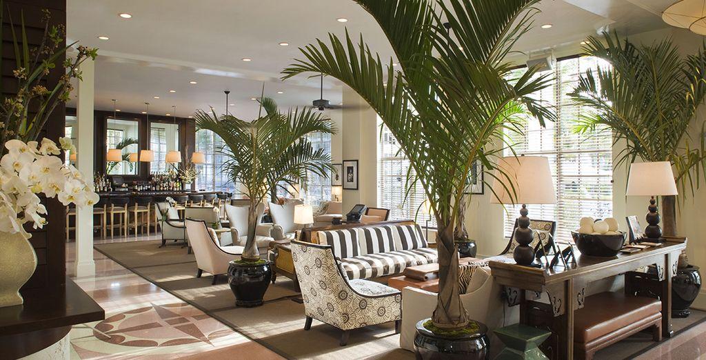 Che vi offrirà ambienti eleganti e dallo stile coloniale