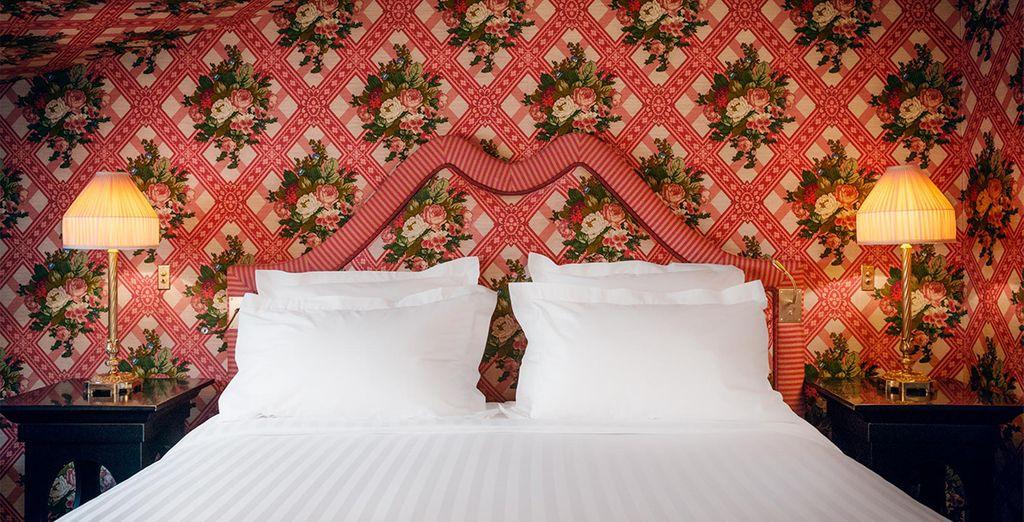 Le vostre deliziose camere Superior hanno elementi di design di grande fama e prestigio