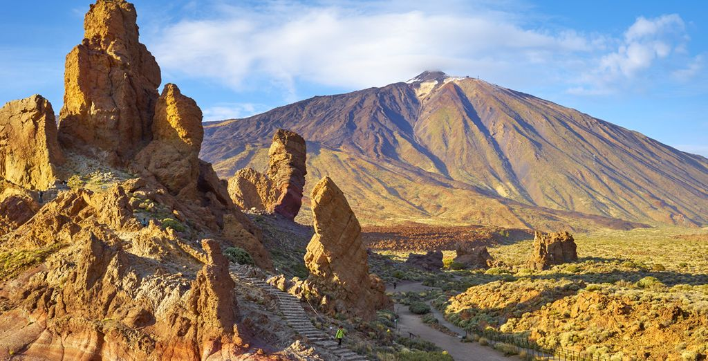 e partite alla scoperta del famoso monte Teide!