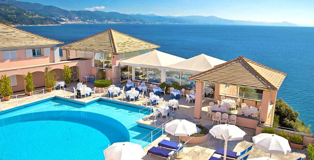 L'Hotel Punta San Martino 4* vi apre le sue porte