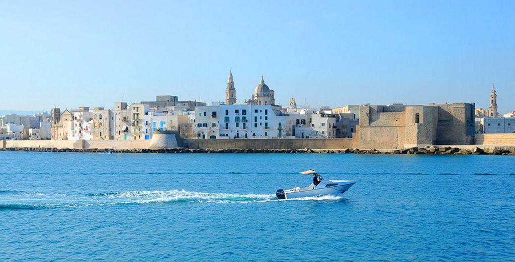 A pochi minuti da Locorotondo alcune delle meraviglie della Puglia come Monopoli