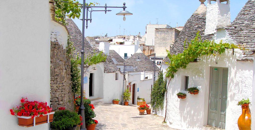 Benvenuti in Puglia, nella cosidetta Murgia dei Trulli - Sotto Le Cummerse Albergo Diffuso 4* Locorotondo