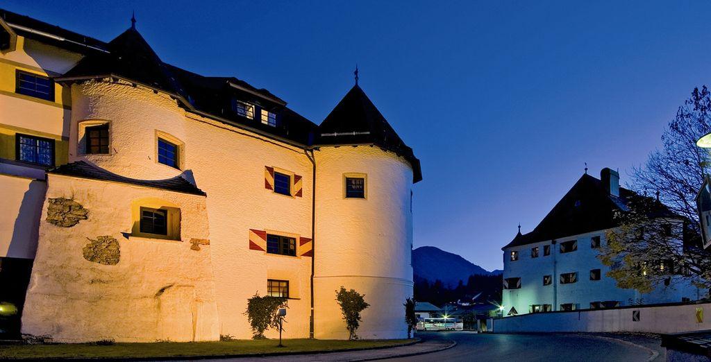 L'Hotel Schloss Rosenegg 4* vi aspetta