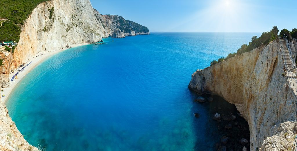 circondati da un mare azzurro e limpido