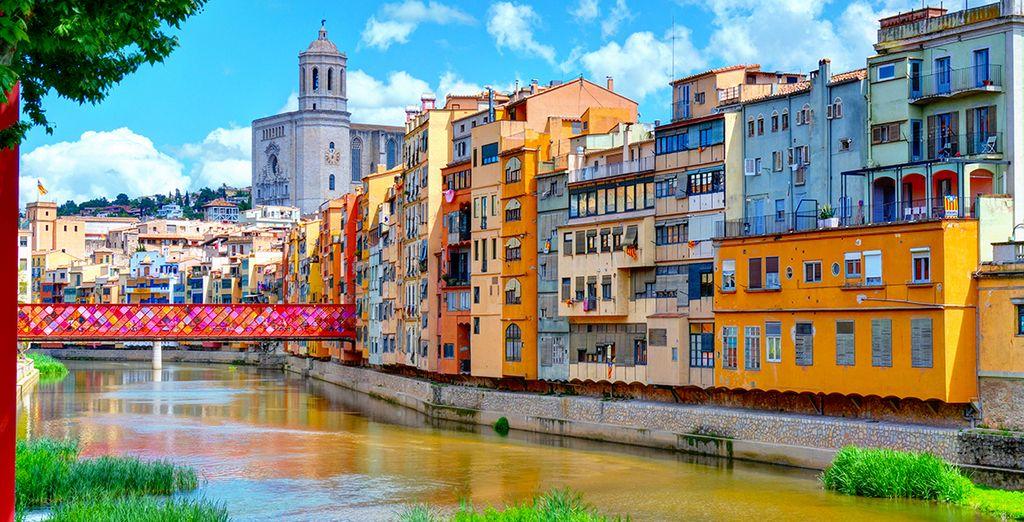 Esplorate la zona e non perdere Girona,
