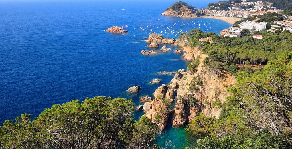 In Costa Brava troverete un mare cristallino