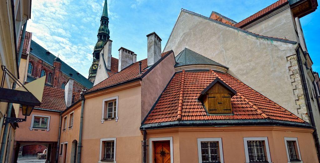 Ammirate le bellezze di Riga