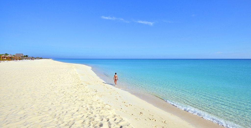 Spiagge bianche e incontaminate, mare cristallino e scintillante