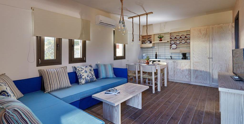 Qui potrete scegliere se rilassarvi nelle accoglienti Suite vista giardino
