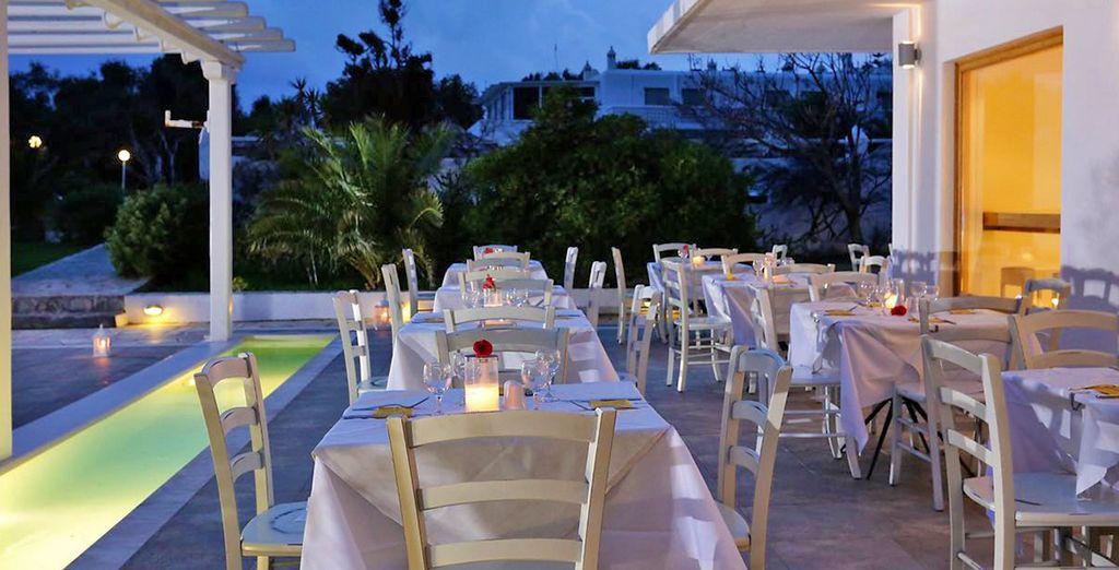 Deliziate i vostri palati con piatti della tradizione mediterranea o greca