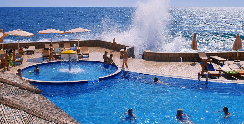 Con vista sul fantastico mare Adriatico