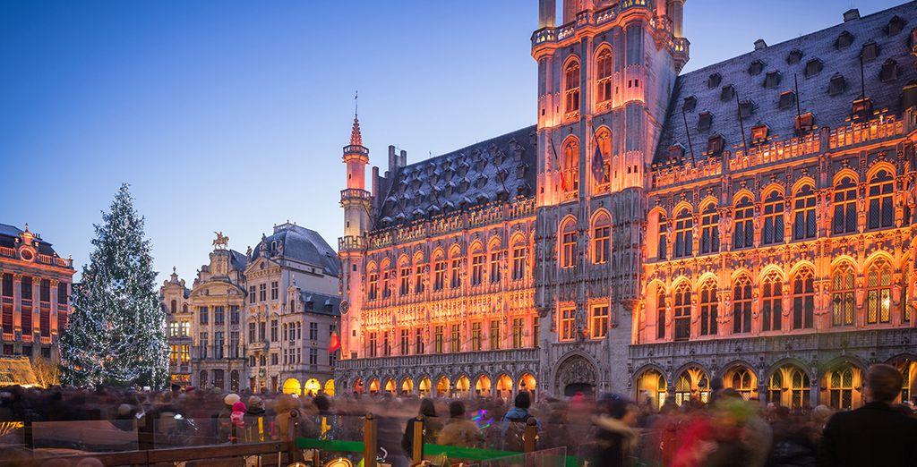 Apprezzerete Bruxelles, una delle città più eleganti di tutta Europa.