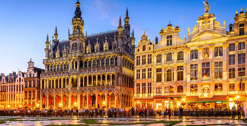 Ammirate le meraviglie di Bruxelles