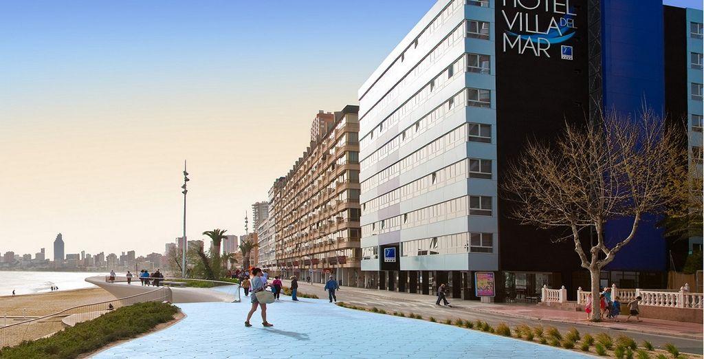 L'Hotel Villa del Mar 4*vi aspetta a Benidorm