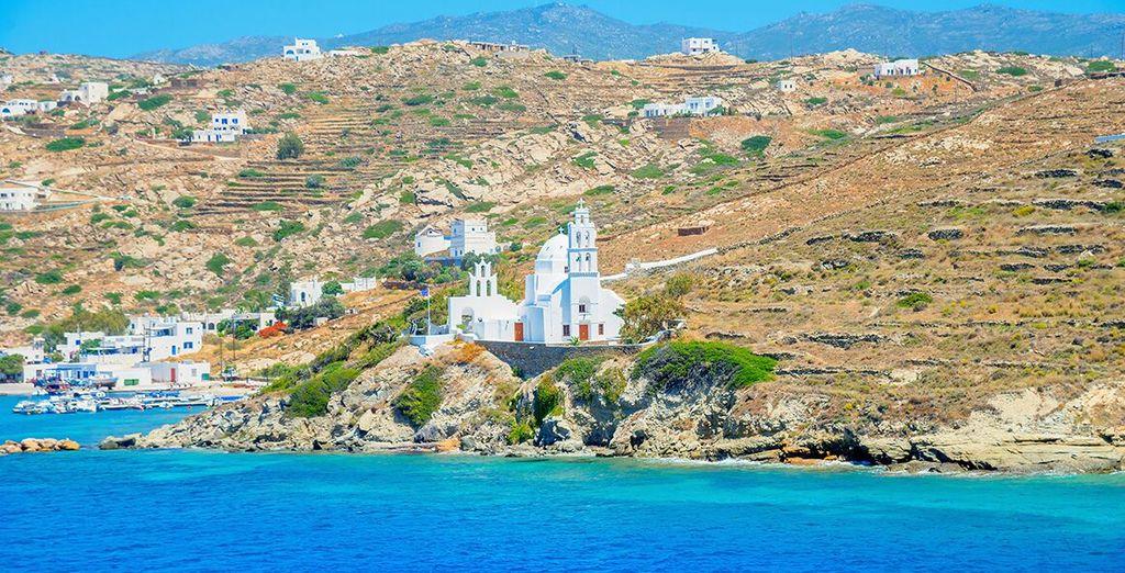 Lasciatevi sedurre da una delle più grandi isole delle Cicladi.