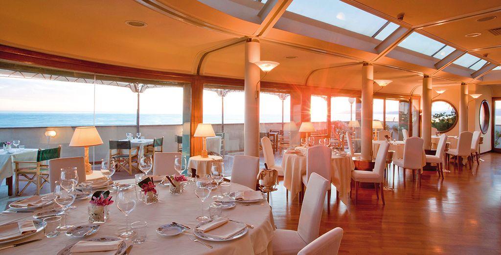 Delizierete i vostri palati presso il ristorante Lunasia premiato con stella Michelin