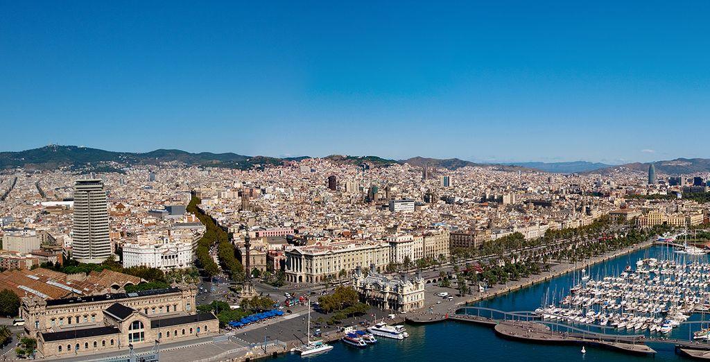 Partite alla scoperta di Barcellona, stupenda città