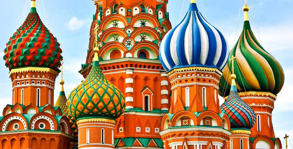 Partite alla scoperta della Russia