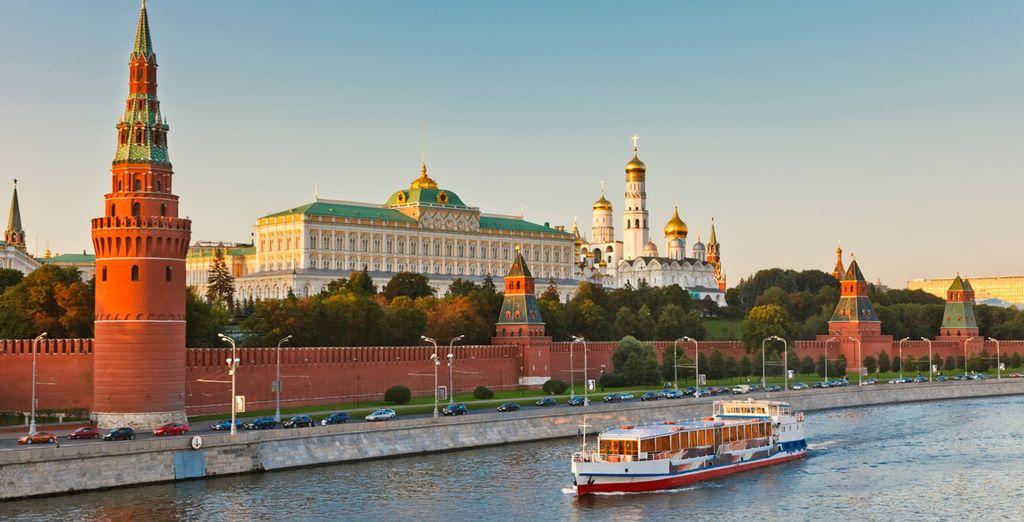 Il Cremlino è un luogo da non perdere