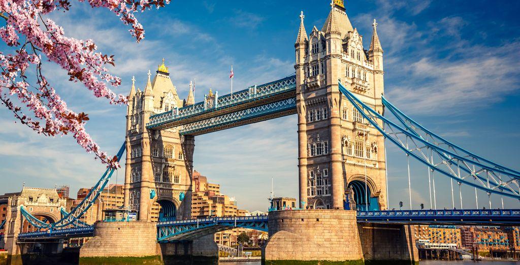 Approfittate della vicinanza al celebre Tower Bridge