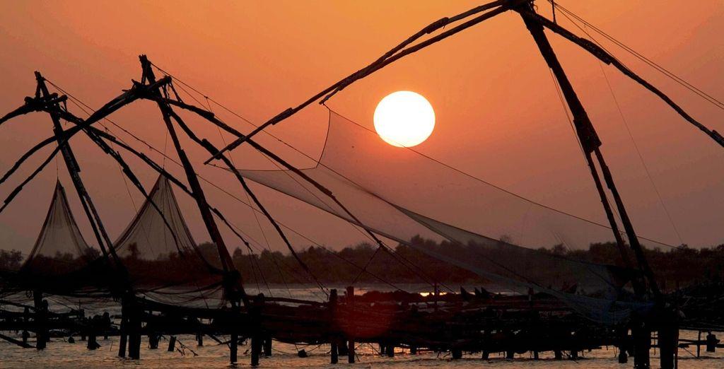 Prima tappa sarà Cochin: la città d'acqua della costa del Malaba