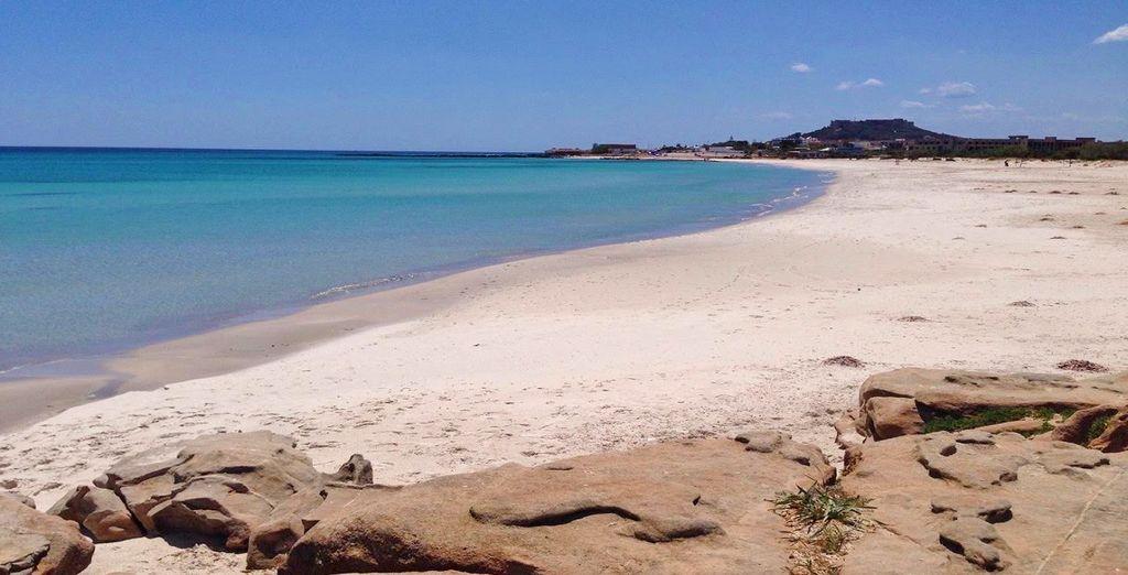 Il bellissimo mare della Tunisia vi attende