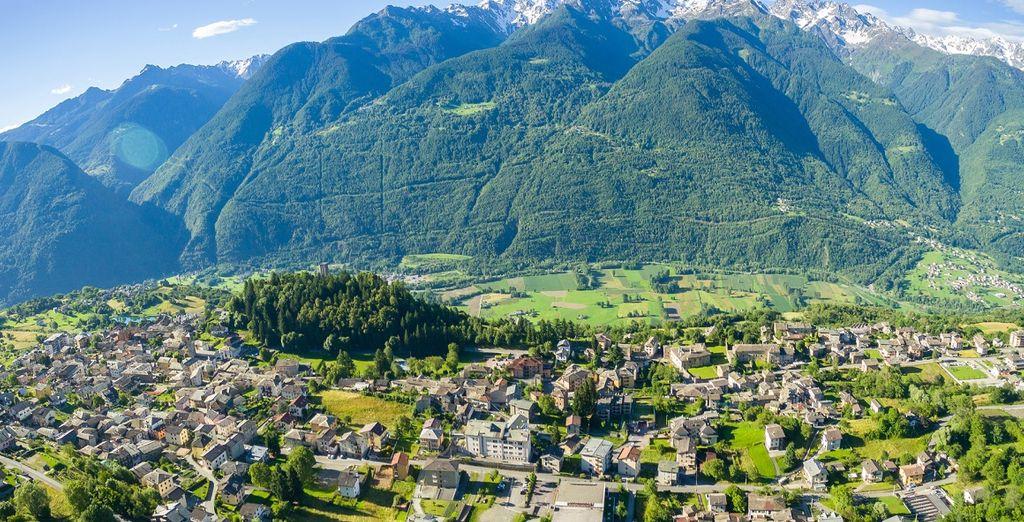 Benvenuti a Teglio, splendida località della Valtellina