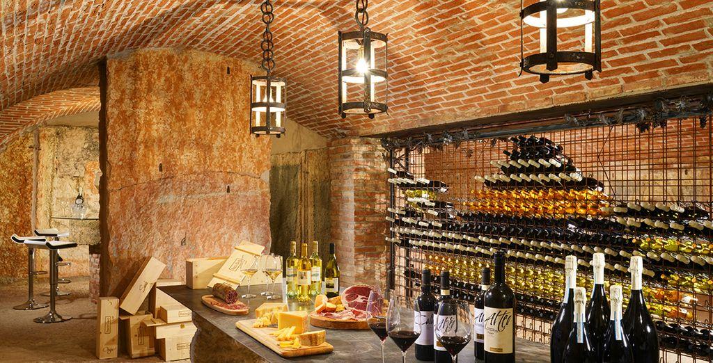 Potrete degustare i migliori vini della zona