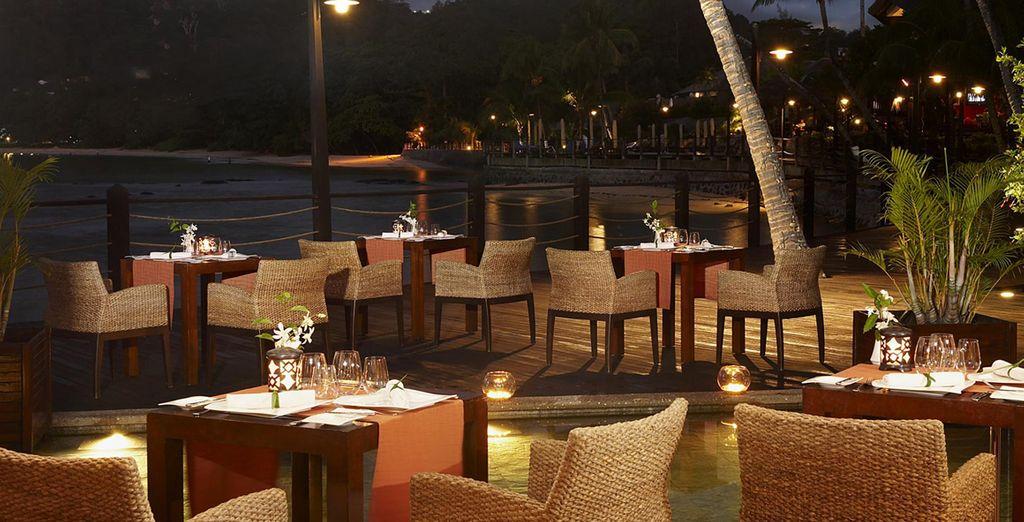 Il Fisherman's Cove dispone di eleganti ristoranti