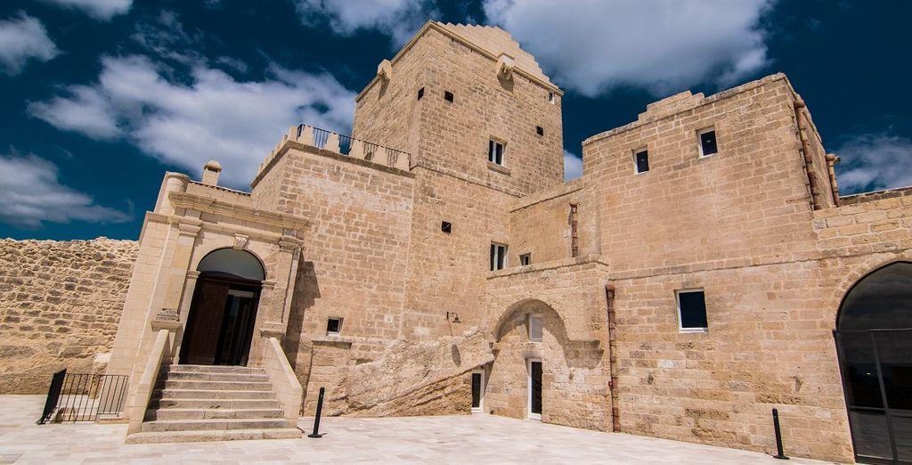 la Masseria Fortificata San Francesco vi attende
