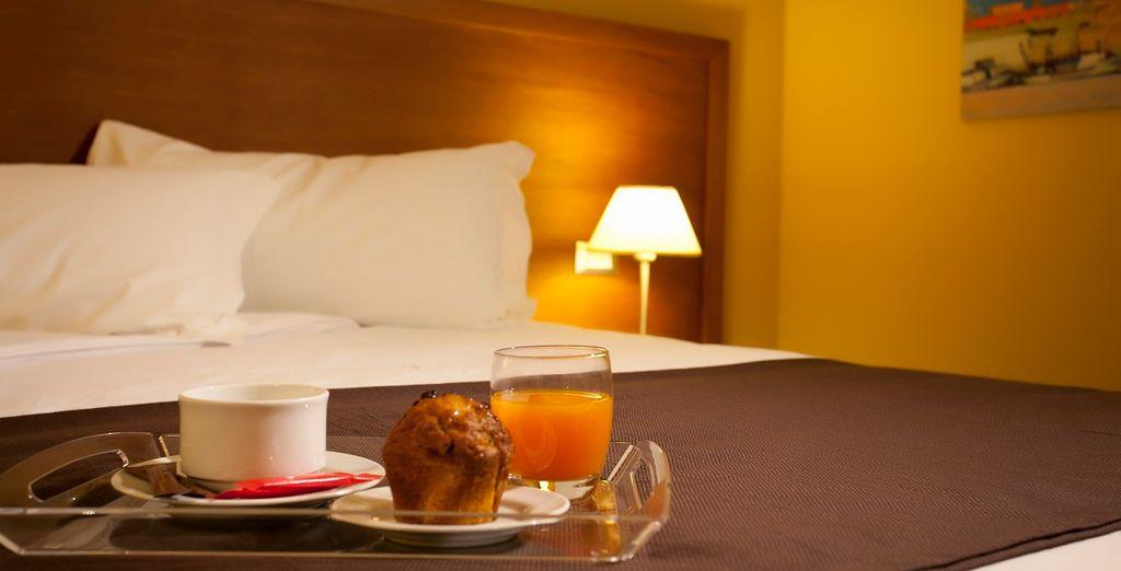 e inizierete al meglio la vostra giornata con un'ottima colazione